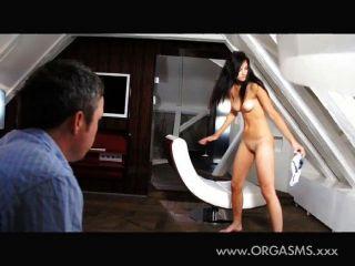 Pornografía Sensual Detrás De Las Escenas