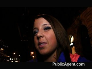 Publicagent Anita Me Muestra Su Culo En Tanga