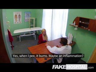 Falsa Hospital Terapia Sexual Con Gran Polla