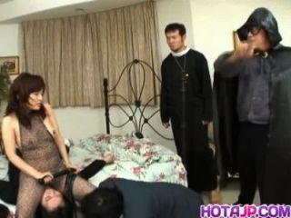 Espectáculo De Porno Caliente Con Kana