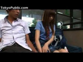 Sexo Público Asiático Adolescente Después De La Escuela