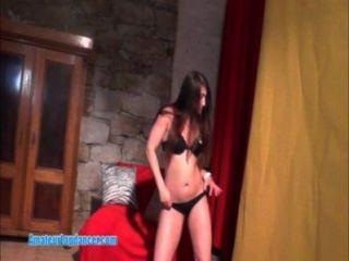Hot Lapdancer Tiene Sexo Con Un Chico De La Cámara
