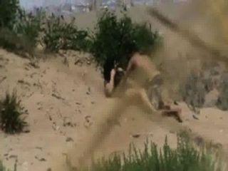 Pakistaní Pareja De Karachi Follando Duro En La Playa De La Bahía De Halcones