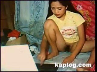 Chica Pinay Webcam Desnuda
