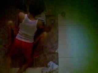 Vecino De Spycam Usando Jilbab Teniendo Sexo En El Suelo