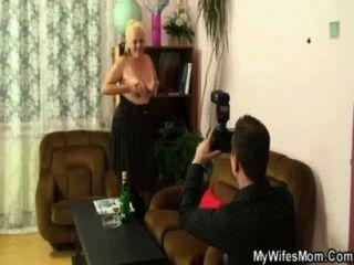 Esposa Encuentra Sus Fotos Desagradables Con Su Suegra