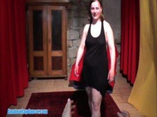 Fat Girl Lapdances Por Primera Vez