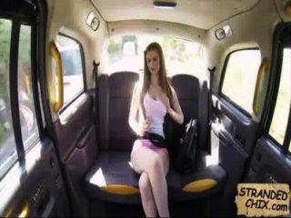 Adolescente Británica Folla Taxista Stella Cox.1.1