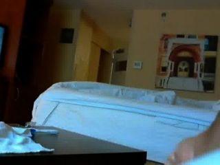 Cogido Atrapado Por Hotel Maid Flash
