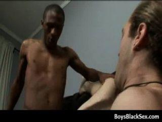 Negro Gay Chicos Mierda Blanco Joven Dudes Hardcore 24