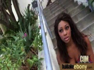 Ebony Se Follan En Todos Los Agujeros Por Un Grupo De Dudes 22