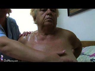 Oldnanny Gorda Gran Abuelita Tener Un Sexo Con Chico Joven