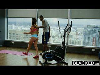 Blacked Fitness Babe Kendra Lust Ama Enorme Gallo Negro