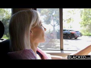 Blacked Preppy Rubia Novia Kacey Jordan Tramposos Con Bbc