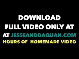Jesse Y Daquan 18 Años De Edad Adora Extrema Follada Negra