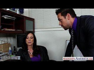 Hotesse Morena Kendra Lujuria Follando En La Oficina