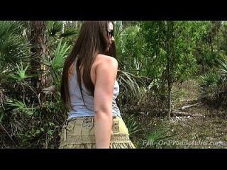 Milf Se Hace Facial En El Bosque. Madisin Lee En La Sorpresa De Cumpleaños De La Mamá 21