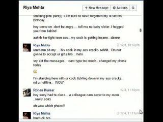 Hermano Indio No Hermano Rohan Folla Hermana Riya En Facebook Chat