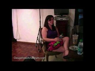 Casting Nervioso Primera Vez Swinger Desesperado Amateurs Pareja Full Figure Big Boo