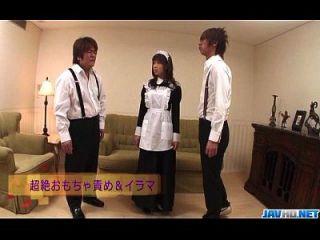 Aiuchi Shiori Japan Maid Chupa Su Maestro Caliente
