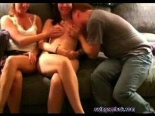 Busty Hotwives Compartido Por Hubbys En Swingers Orgy En Swingersfuck.com