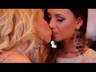 Taylor Sands Y Kiara Lord Compartir Una Polla Gordo En La Discoteca!