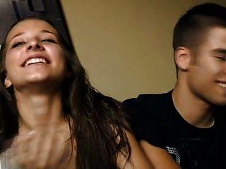 18 Años Cristina Y Diego Joven Pareja Follan Por Dinero