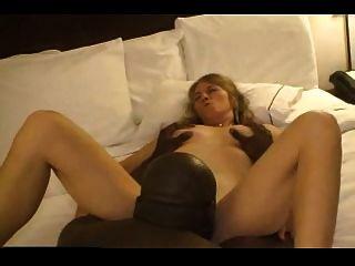 Madura Esposa Caliente Citas Negro Chico En La Habitación Del Hotel