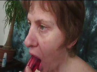 Abuelita Peluda Con Titties Saggy Y Pezones Grandes