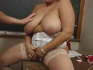 Profesor De Bbw Maduro Caliente Kirsten Halborg
