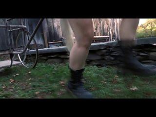 Ponyslave Pervert Bdsm Entrenamiento Al Aire Libre