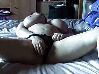 Masturbation Caliente Del Gatito Del Redhead Pechugona Por Troc