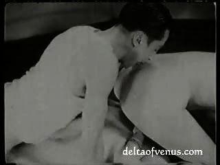 Vintage Francés Xxx Película Circa 1925