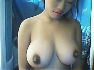 Chica Asiática Sexy De La Leva Con Los Boobs Grandes