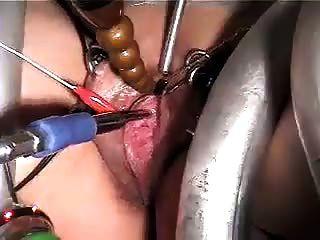 Uretra Sonando Con E Stim
