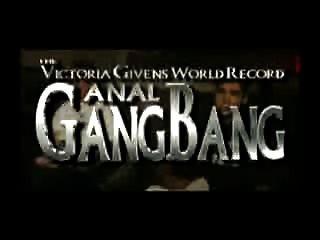 Victoria Higgins Anal Gangbang Record Mundial 950 Polla 1