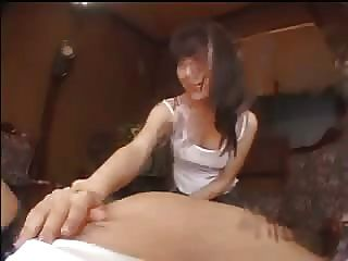 Amazin Asian 11 Cámara Licking Handjob Cielo