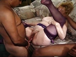 Kitty Foxx Interracial 3some