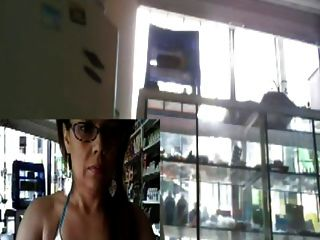 Webcam Chica En El Trabajo