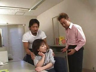 Muchacha Japonesa Linda Que Consigue Fingered