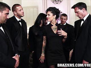 Brazzers Veronica \u0026 Bonnie El Secreto De Los Seis Hombres Gan