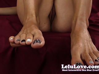 Lelu Amor Close-up Gatito Dedos Del Pie Jerkoff Estímulo
