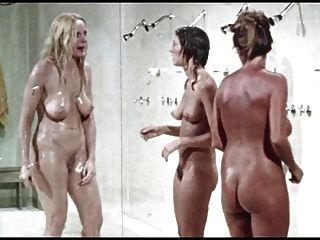 Escena De La Ducha De.muchachas De La Prisión, Vintage