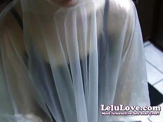 Lelu Love Poncho Condom Blowjob