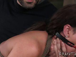 Otk Spanking Puta En Cuerda Bondage