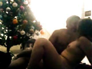 Árbol De Navidad Y Mi Esposa
