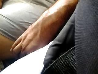 Muy Sexy Piernas Piernotas Acariciadas Toque Bus