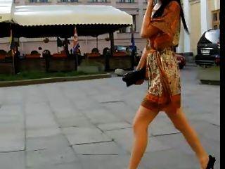 Upskirt 2011 Por Murziq No Chica Bragas