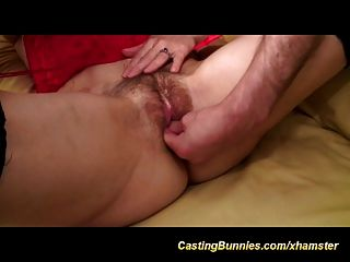 Sexy French Anal Casting Video
