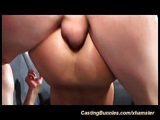 Su Primer Trío Porno Anal Casting